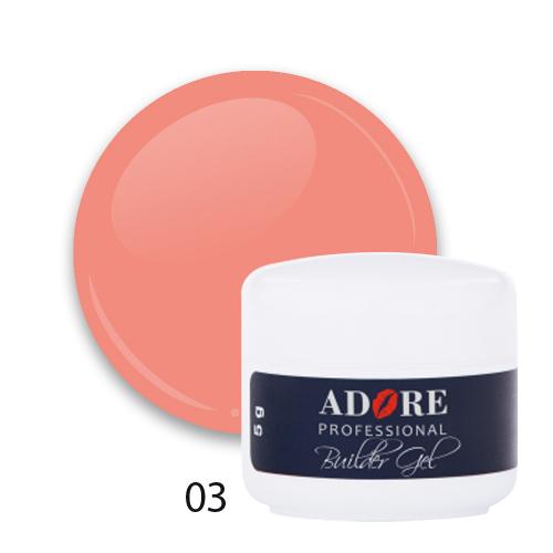 cover builder gel 5g №03 - peach