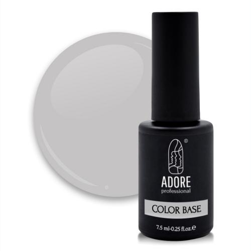 цветная база для ногтей ADORE professional 7,5ml №04 - ash