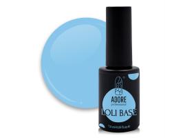 "цветная ""лоли"" база для ногтей ADORE professional 7,5ml №04 - loli-ice"