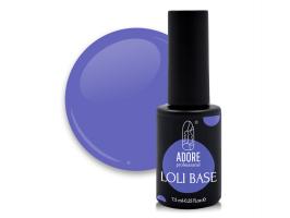 "цветная ""лоли"" база для ногтей ADORE professional 7,5ml №06 - loli-jelly"