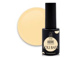 """цветная """"лоли"""" база для ногтей ADORE professional 7,5ml №02 - loli-light"""