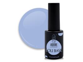 """цветная """"лоли"""" база для ногтей ADORE professional 7,5ml №05 - loli-pop"""