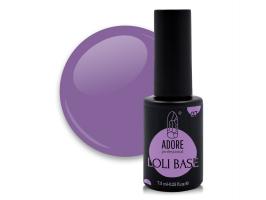 "цветная ""лоли"" база для ногтей ADORE professional 7,5ml №07 - loli-bloom"