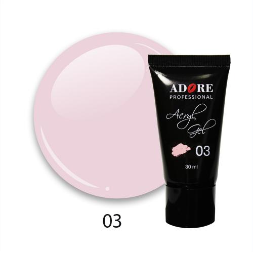 cover acryl gel 30ml №03 - pink