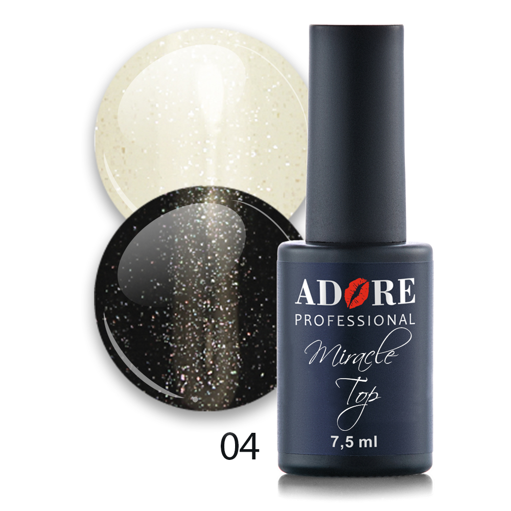 Miracle Top 7,5ml №04 - silver shimmer
