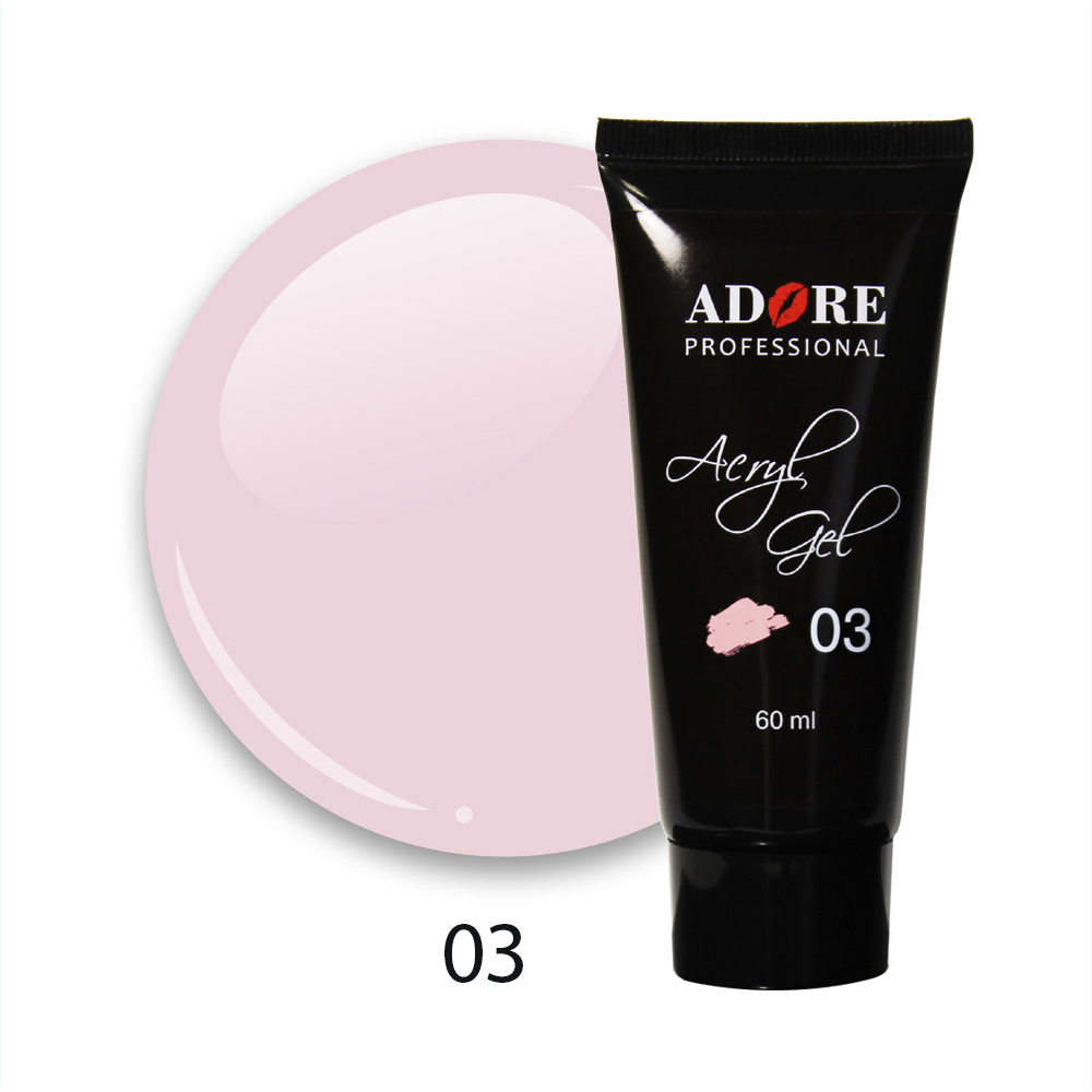 cover acryl gel 60ml №03 - pink